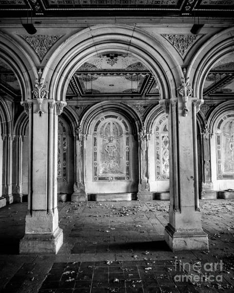 Wall Art - Photograph - Central Park Terrace Arches 2  by Perry Webster