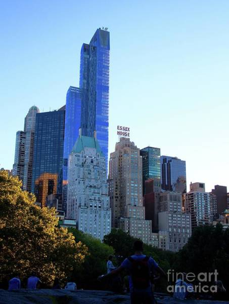 Wall Art - Photograph - Central Park View 1 by Gregory E Dean