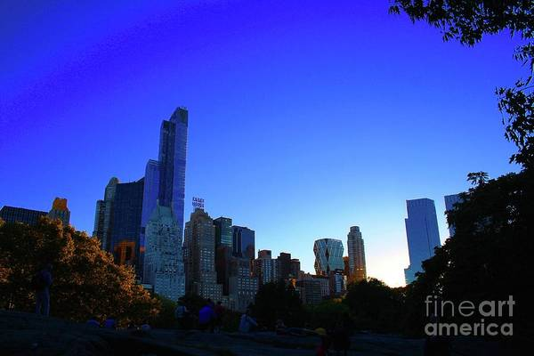 Wall Art - Photograph - Central Park View 2 by Gregory E Dean