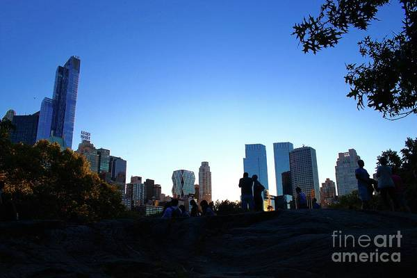 Wall Art - Photograph - Central Park View 5 by Gregory E Dean