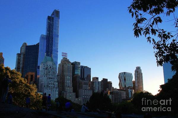 Wall Art - Photograph - Central Park View by Gregory E Dean
