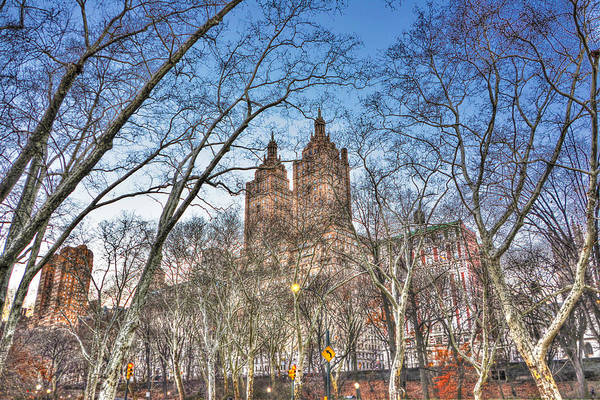 Wall Art - Photograph - Central Park West In Winter 2 by Randy Aveille