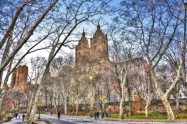 Wall Art - Photograph - Central Park West In Winter by Randy Aveille