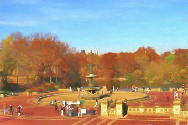 Wall Art - Photograph - Central Park by Winnie Chrzanowski