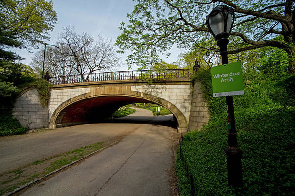 Photograph - Central Park Winterdal Arch New York Ny by Toby McGuire