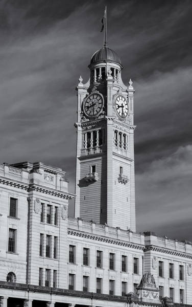 Photograph - Central Station Clock Tower by Nicholas Blackwell