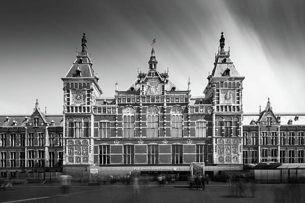 Amsterdam Photograph - Central Station by Ivo Kerssemakers