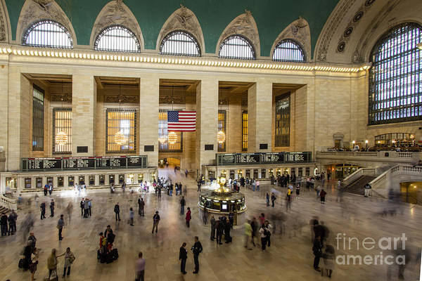 Photograph - Central Station New York  by Juergen Held