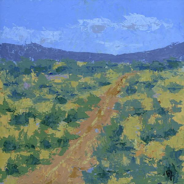 Painting - Central Utah Ranch Land by David King