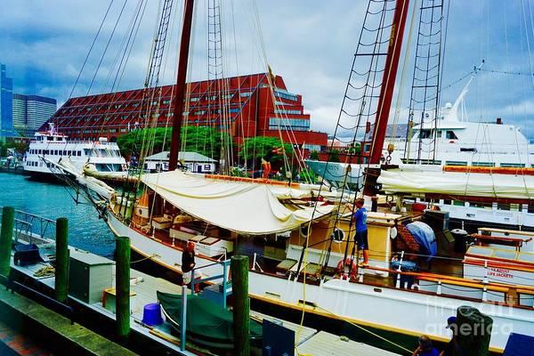 Jasmin Photograph - Central Wharf by Jasmin Hrnjic