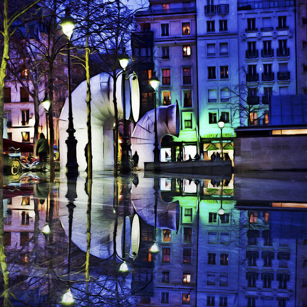 Photograph - Centre Georges Pompidou by Evie Carrier