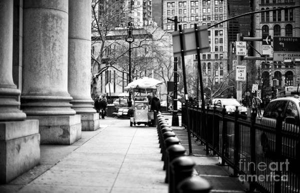Wall Art - Photograph - Centre Street Lines by John Rizzuto