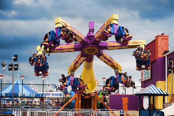 Photograph - Centrifuge At Luna Park by S Paul Sahm