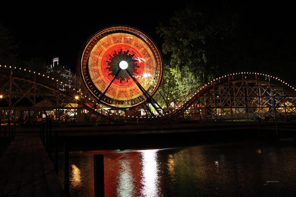 Photograph - Century Wheel by Gary Gunderson