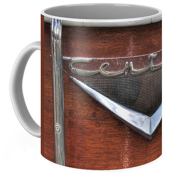 Wall Art - Photograph - Century Wooden Boat Coffee Mug by Jane Linders