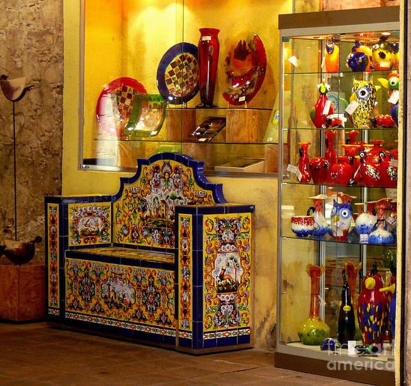 Ceramic Crafts In A Shop Art Print