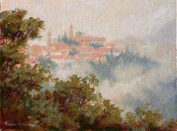 Wall Art - Painting - Cercado - Italy by Roger Williams