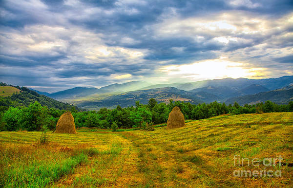 Wall Art - Photograph - Cernei Mountains Seen From Nearby Mehadia by Gabriela Insuratelu