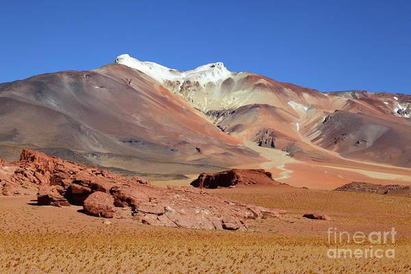 Photograph - Cerro Tuyajto Volcano Chile by James Brunker