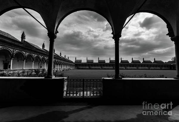 Photograph - Certosa Di Pavia Monastry Near Milan, Italy by Alexandre Rotenberg