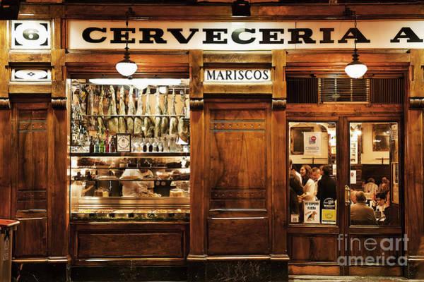 Taverna Photograph - Cerveceria by John Greim