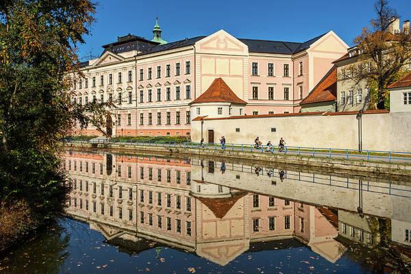 Photograph - Ceske Budejovice River Reflections #2 - Czechia by Stuart Litoff