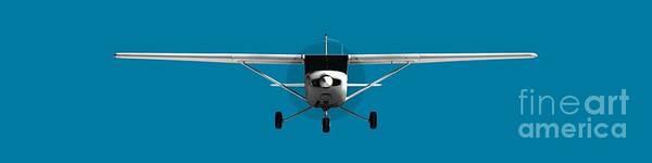 Prop Digital Art - Cessna 152 by Jan Brons