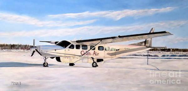 Painting - Cessna 208 Caravan by Marilyn  McNish