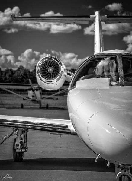 Wall Art - Photograph - Cessna Citation by Philip Rispin