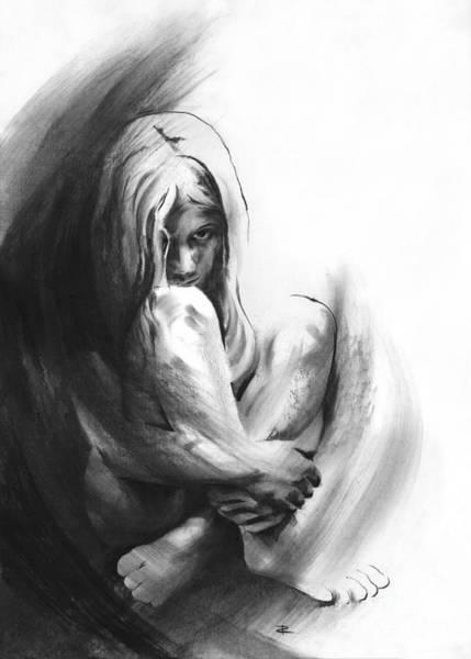 Interpret Drawing - C'est La Vie by Paul Davenport