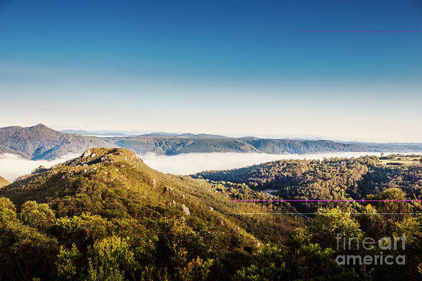 Mountain Range Photograph - Cethana Range Tasmania by Jorgo Photography - Wall Art Gallery