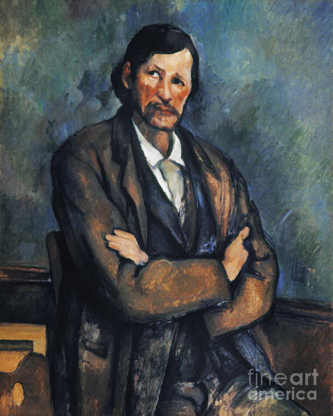 Photograph - Cezanne: Man, C1899 by Granger