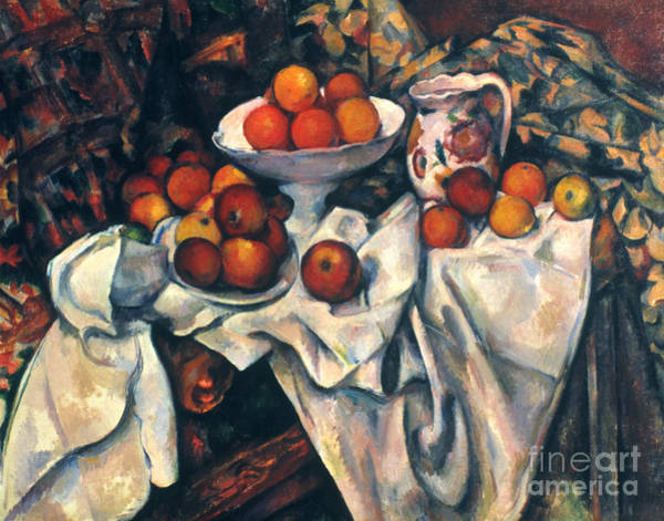 Photograph - Cezanne: Still Life, C1899 by Granger