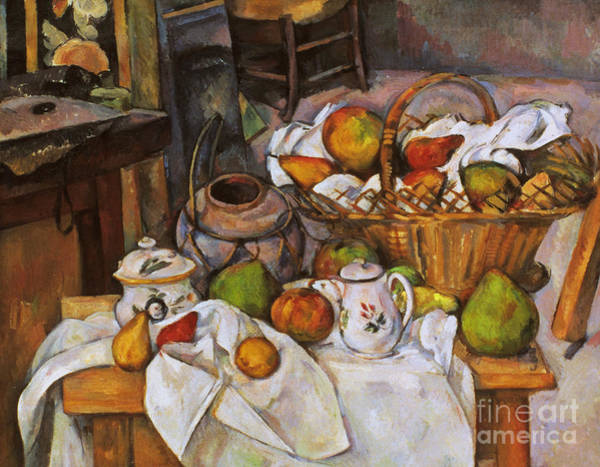 Photograph - Cezanne: Table, 1888-90 by Granger