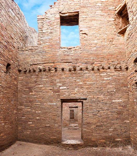 Chaco Canyon Wall Art - Photograph - Chaco Canyon Doorways 4 by Carl Amoth