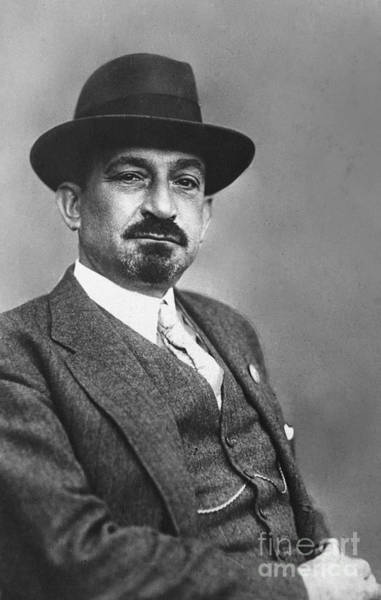 Photograph - Chaim Weizmann  by Granger