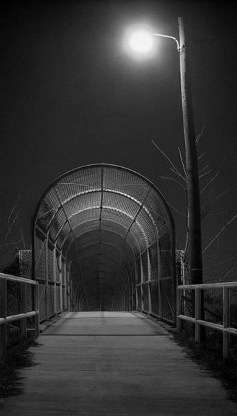 Chain Link Photograph - Chain Bridge by Murray Bloom