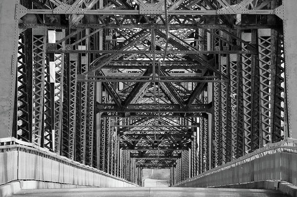 Photograph - Chain Of Rocks Bridge by Steve Stuller