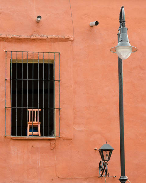 Photograph - Chair Behind Bars by Rob Huntley