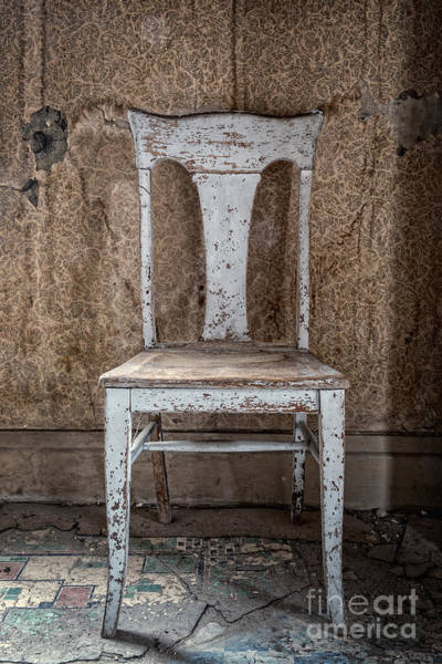 Photograph - Chair In Abandoned Home In Bodie Ghost Town by Bryan Mullennix