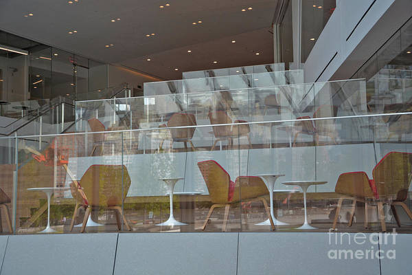 Chair Reflections Art Print by Andrea Simon