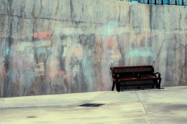 Photograph - Chalk N Bench by Michael Hope