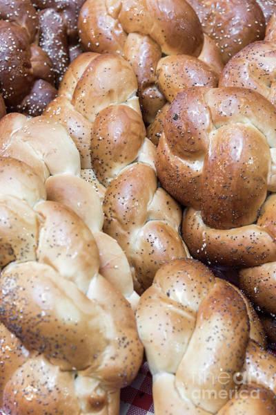 Wall Art - Photograph - Challah. The Traditional Jewish White Bread by Ilan Amihai