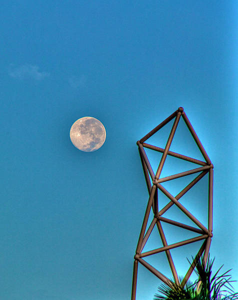 Wall Art - Photograph - Challenger Moon by William Wetmore