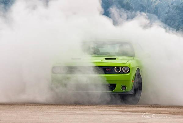 Photograph - Challenger Smoke by Dan Beauvais