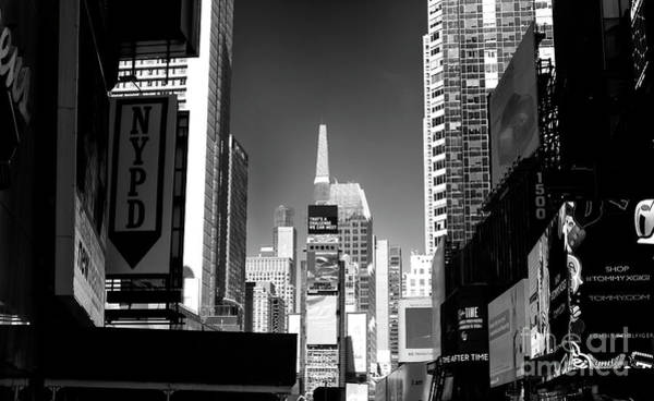 Wall Art - Photograph - Challenges In Times Square by John Rizzuto
