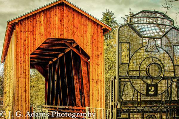 Photograph - Chambers Railroad Bridge by Jim Adams