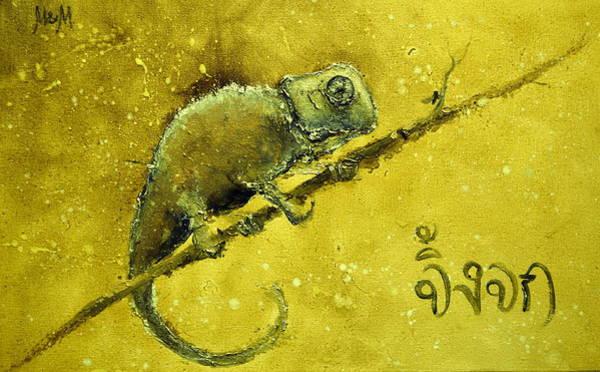 Photograph - Chameleon by Igor Medvedev