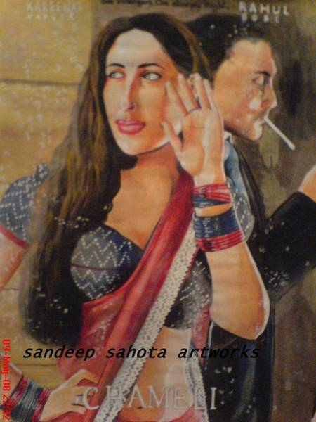 The Terminator Painting - Chameli by San Art Studio