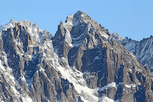 Mountain Climbing Photograph - Chamonix- Mountaineers Paradise by Pat Speirs